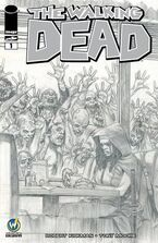 Issue 1 Wizard World Comic Con Fort Lauderdale VIP Exclusive Variant Sketch Cover signed by Julian Totino Tedesco