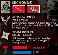 Michonne (Assault) profile