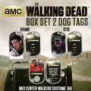 The Walking Dead - Dog Tag (Season 2) - Set 2