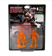 Jesus pvc figure 2-pack (translucent orange) 2