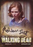 A8 Madison Lintz as Walker Sophia