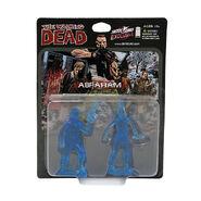 Abraham PVC Figure 2-Pack (Translucent Blue)