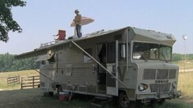 The RV Parked at Hershel's Farm