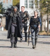 Carol Peletier and Ezekiel