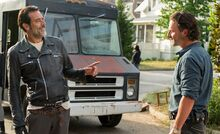 704 Negan taunts Rick