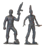 Abraham pvc figure 2-pack (bloody grey) 2