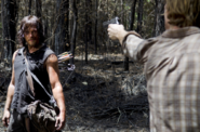 AMC 606 Dwight Threatens Daryl