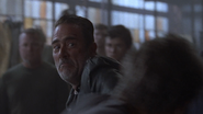 Simon and Negan Fistfight 2 S8E15