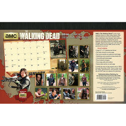 The Walking Dead® 2016 Desk Pad Planner