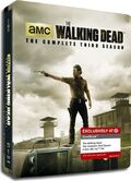 THE WALKING DEAD- THE COMPLETE THIRD SEASON Steelbook Blu-ray™