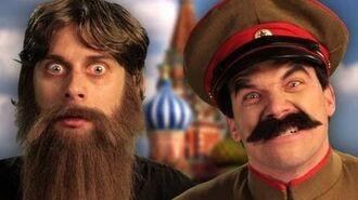 Rasputin vs Stalin. Epic Rap Battles of History