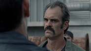 Simon shocked when Negan shows up S8E15