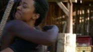 Sasha Hugs Michonne