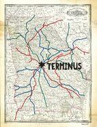Terminus rail map