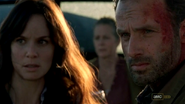 Rick grimes and Lori