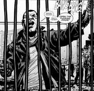 Issue 111 Negan Impatient