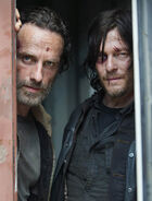 Season five rick and daryl