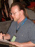 Michael Golden at Super-Con 2009 2