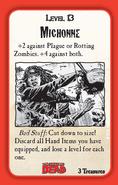 Munchkin Zombies- The Walking Dead Michonne card