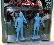 Negan pvc figure (blue)