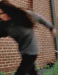 Terminus woman blur