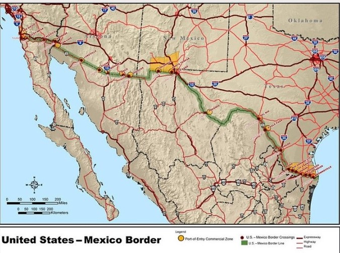 Mapa The Walking Dead.The Border Fear Walking Dead Wiki Fandom Powered By Wikia
