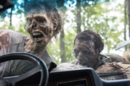 AMC 509 Walkers Attack Car