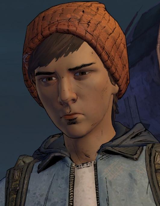 Gabriel García Walking Dead (Telltale Games) Minecraft Skin