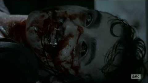 The Walking Dead 4x1, Patrick's Death