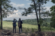 10x06 Daryl and Carol on a mission