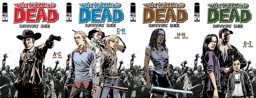 4-Issues The Walking Dead Survivors' Guide