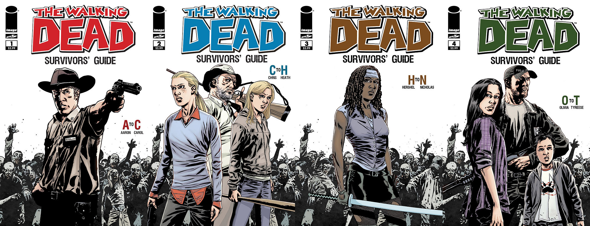 gallery 4 issues the walking dead