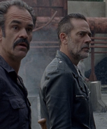 Negan and Simon S8E10