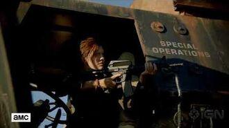 Fear the Walking Dead Season 4 Teaser Maggie Grace via IGN