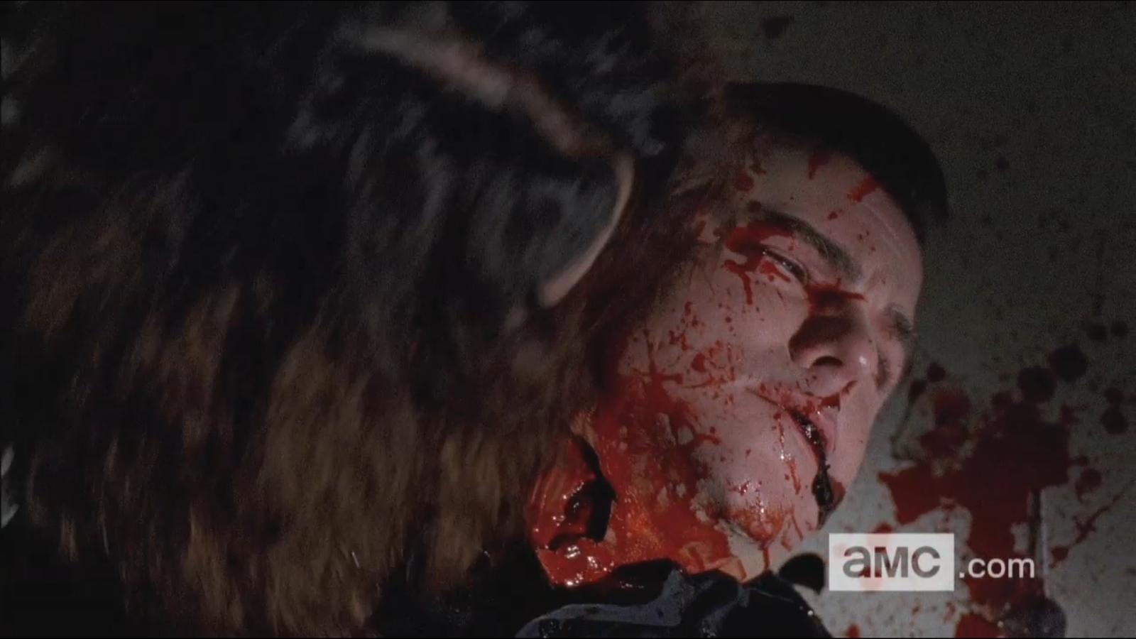 The Walking Dead Eric Death