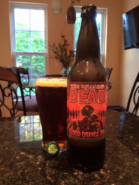 The Walking Dead- Blood Orange IPA bottle