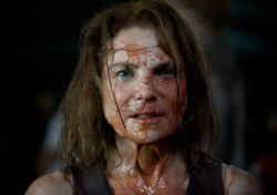 AMC 605 Deanna Bloody Face