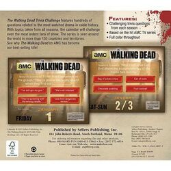 The Walking Dead Trivia Challenge Desk Calendar 2