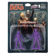 The whisperers pvc figure 2-pack (purple)