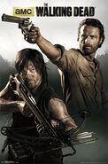 Walking Dead - Rick & Daryl