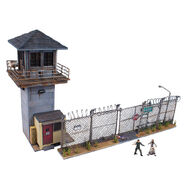 The Walking Dead Construction Prison Tower