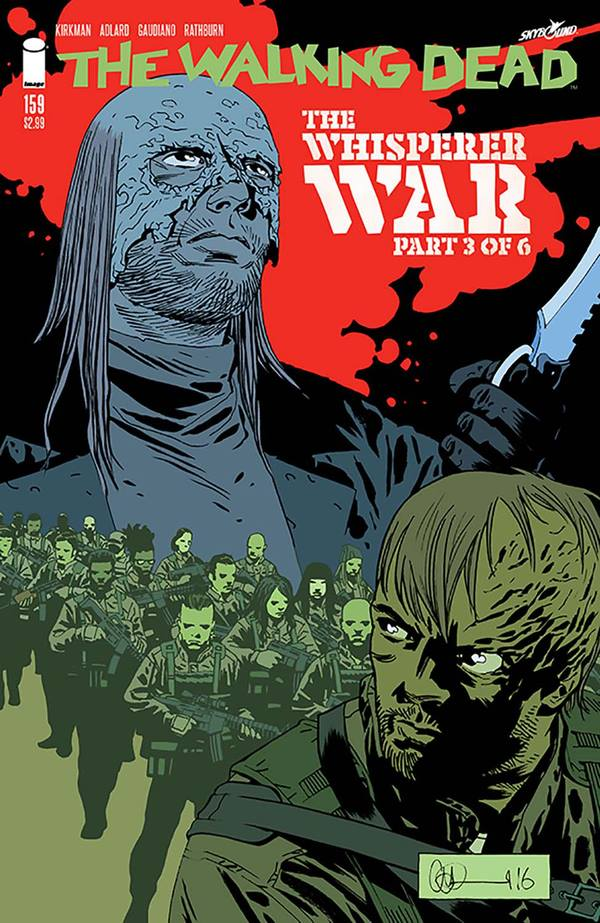 The Walking Dead Comic Issue 159