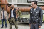 Negan and Saviors 7x11