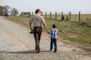 TWD 816 Rick and Carl Grimes
