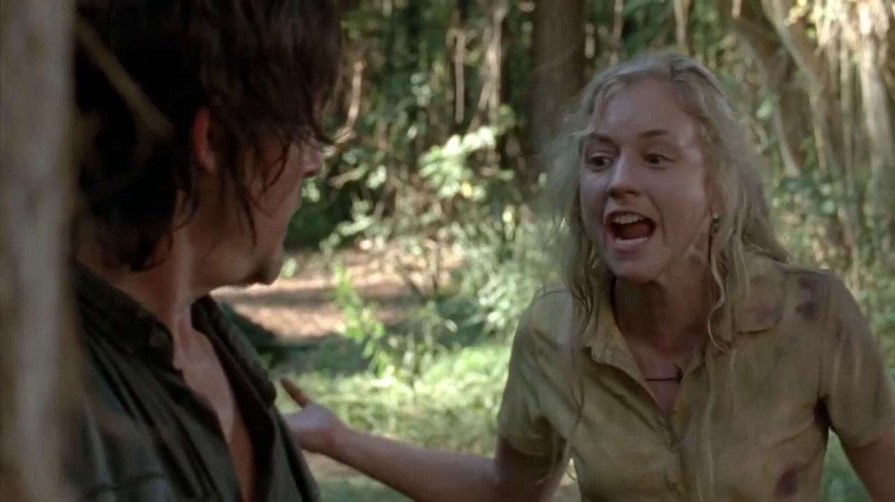 Image - Beth telling Daryl he is afraid.JPG | Walking Dead