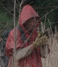 Season five red poncho man