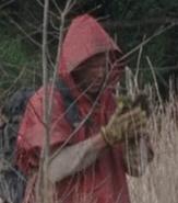 Season five red poncho man