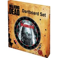 The Walking Dead Dartboard Set 2