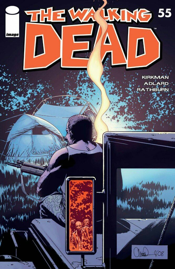 Cover Gallery Issue 55 Walking Dead