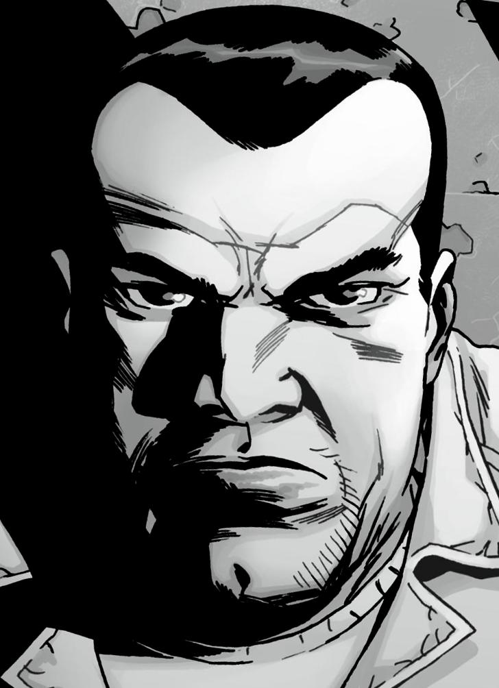 The Walking Dead Comic Negan